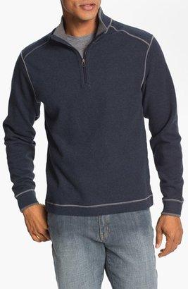 Cutter & Buck 'Overtime' Regular Fit Half Zip Sweater (Big & Tall) $96 thestylecure.com