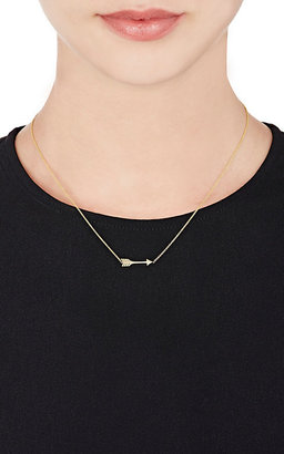 Jennifer Meyer Women's Arrow Pendant Necklace