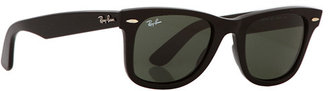 Ray-Ban RB2140 Original Wayfarer 50mm Sunglasses $150 thestylecure.com