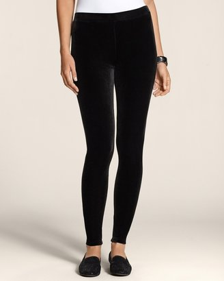 Chico's Velvet Legging