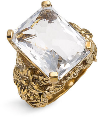 Stephen Dweck Rectangular Rock Crystal Ring (Nordstrom Exclusive)