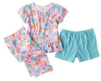 Carter's Just One You® by Infant Toddler Girls' 3-Piece Pajama Set