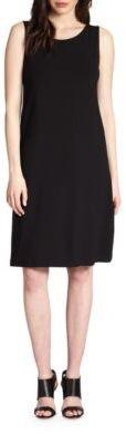 Eileen Fisher Sleeveless Jersey Shift Dress