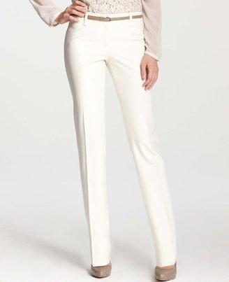 Ann Taylor Petite Modern Sporty Twill Straight Leg Pants