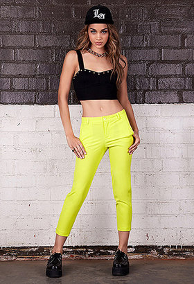 Forever 21 Cropped Studded Bustier