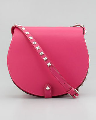 Rebecca Minkoff Skylar Studded Crossbody Bag, Poppy Pink