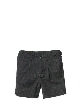 Dolce & Gabbana Checked Poplin Bermuda Shorts
