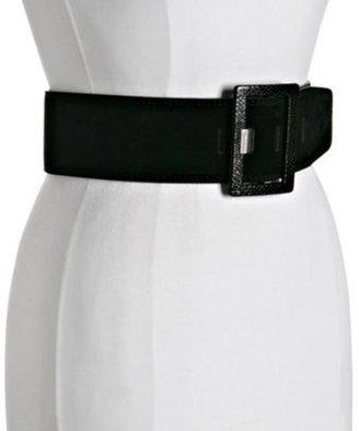 Calvin Klein suede wide belt