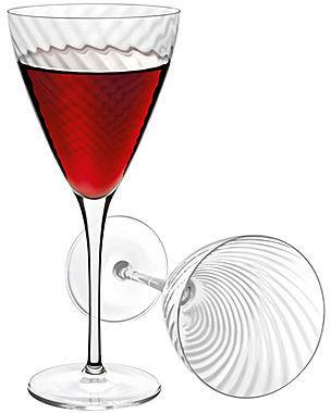 Luigi Bormioli Hypnos Set of 4 Red Wine Glasses