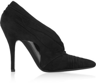 Alexander Wang Ruched suede pumps