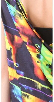 Zero Maria Cornejo Kaleidoscope Toga Dress