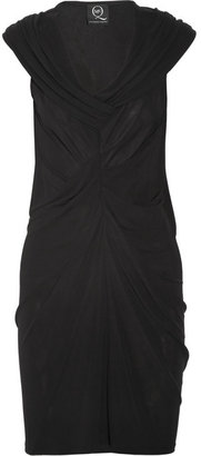 McQ by Alexander McQueen Draped stretch-crepe dress