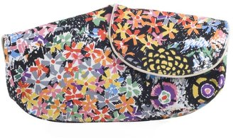 See by Chloe Canvas floral clutch bag