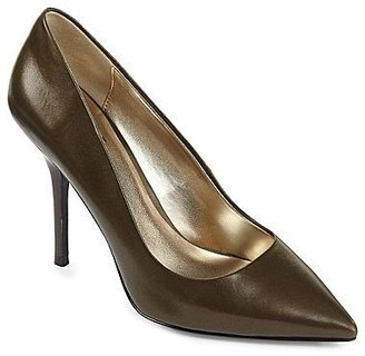 JCPenney Worthington® Trina Pointy-Toe Leather Pumps