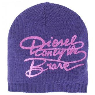 Diesel Purple Metallic Branded Hat