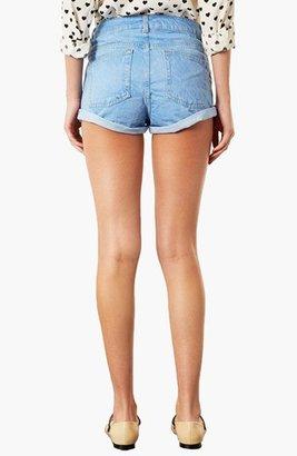 Topshop Moto 'Polly' Denim Shorts