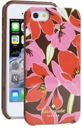 Kate Spade 'tropical floral' iPhone 5 & 5s case