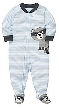 Carter's Raccoon Footed Pajamas - Boys 12m-24m