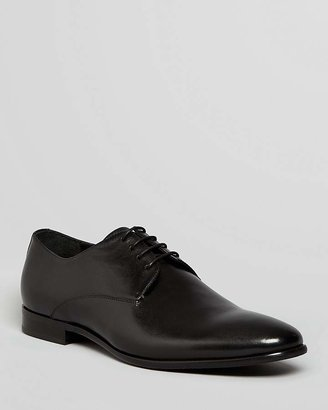 Gordon Rush Manning Leather Plain Toe Derbys $225 thestylecure.com
