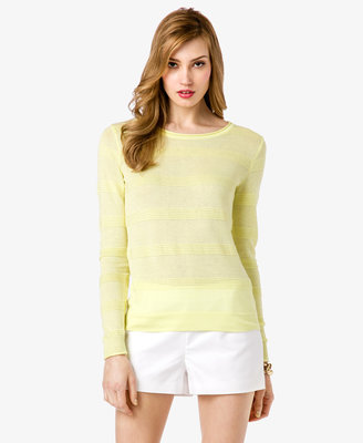 Forever 21 Essential Textured Stripe Sweater