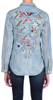 Blank NYC Embroidered Denim