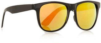 Topman Black Oversized Sunglasses