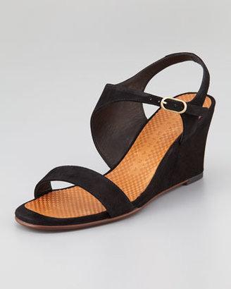 Chie Mihara Anatour Mid-Wedge Sandal, Black