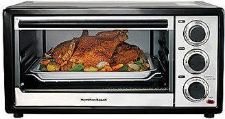 Hamilton Beach 6-Slice Convection Toaster Oven & Broiler