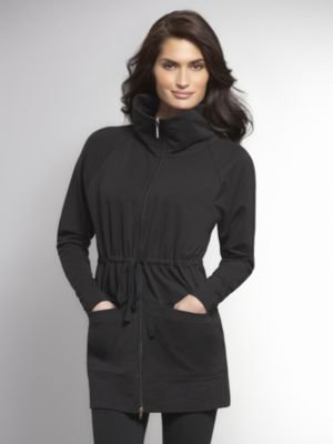 New York & Co. Love NY&C Collection - Zip Front Tunic Jacket