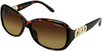 Liz Claiborne Studio 54 Rectangle-Frame Sunglasses