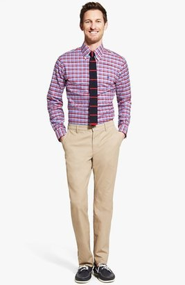 Brooks Brothers Non-Iron Multi Check Slim Fit Sport Shirt