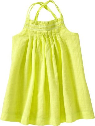 Old Navy Pleated Double-Strap Sundresses for Baby