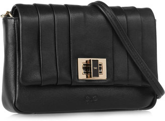 Anya Hindmarch Mini Gracie pleated leather shoulder bag