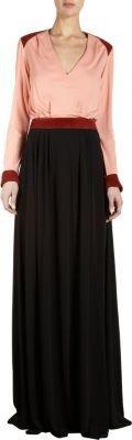 Balenciaga V-Neck Maxi Dress