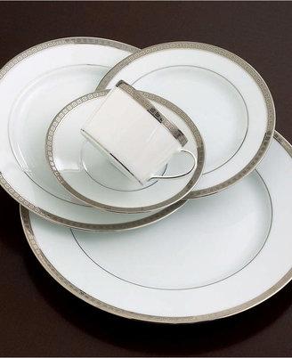 """Bernardaud Dinnerware, Athena Platinum Oval Platter, 15"""""""