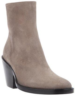 Ann Demeulemeester bi-colour ankle boots