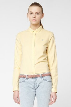 Lacoste L!VE Long Sleeve Color Chambray Woven Shirt