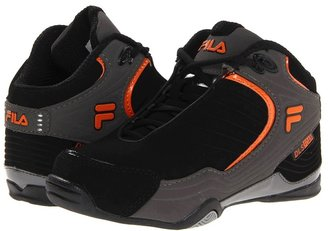 Fila Kids - Breakaway (Little Kid/Big Kid) (Black/Pewter/Vibrant Orange) - Footwear