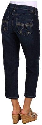 Jag Jeans Hannah Crop in Indigo (Indigo) - Apparel