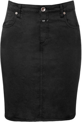 Closed Black Cotton Austin Skirt