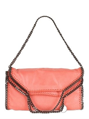 Stella McCartney Three Chain Shaggy Faux Deer Falabella