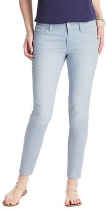 LOFT Tall Curvy Skinny Ankle Jeans in Sky Blue Wash