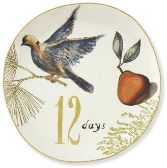 Williams-Sonoma 12 Days of Christmas Round Platter