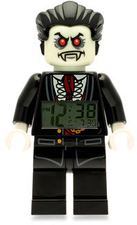 Lego Monster Fighters Lord Vampyre Minifigure Alarm Clock