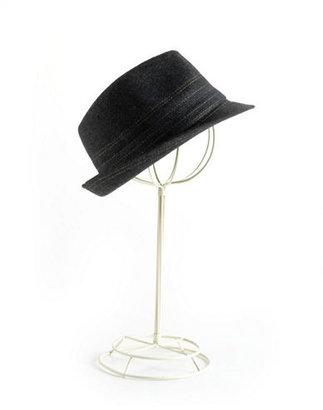 BCBGMAXAZRIA Herringbone Fedora Hat