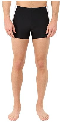 Speedo Fitness Splice Square Leg (Navy/Blue) Men's Swimwear
