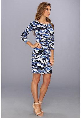 Rachel Pally Jersey 3/4 Sleeve Bianca Dress
