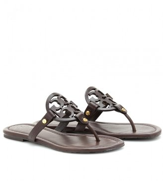 Tory Burch MILLER LOGO LEATHER SANDALS