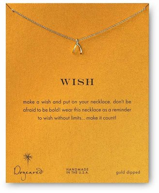 Dogeared Wish Necklace, 18""