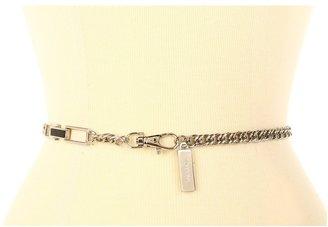 Calvin Klein Luxe Chain With Two Semi Wrap Ornaments (Black) - Apparel